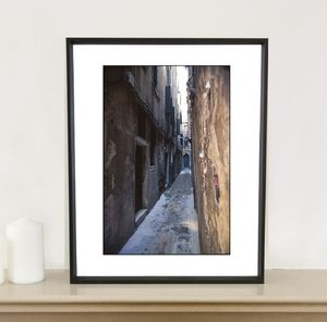 Alley, Venice, Italy Photographic Art Print