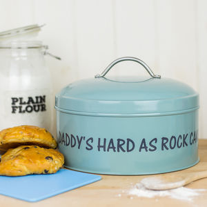 Personalised Enamel Cake Tin - kitchen accessories
