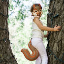 Squirrel Mask And Tail Children's Costume