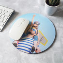 Personalised Photo Mouse Mat Round
