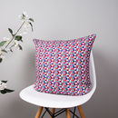 Abstract Pattern Organic Cotton Cushion