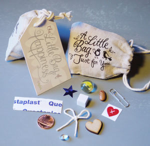 Little Bag Of Happiness *Sale! Three For Two - wedding favours