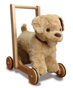 Labrador Ride On And Push Along Baby Walker - traditional toys & games