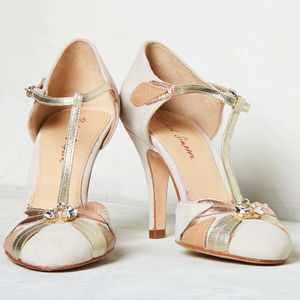 Wedding Shoes Emmeline Blush Ivory