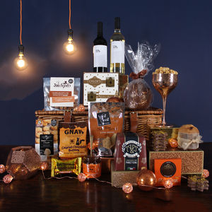 The Only Way Is Xmas Hamper - storage