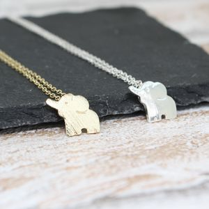 Elephant Necklace - necklaces & pendants