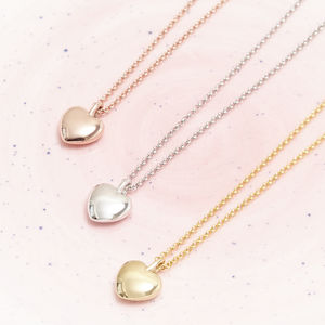 Heart Pebble Necklace For Love - necklaces & pendants