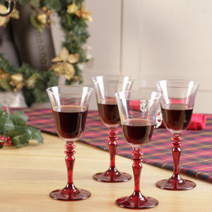 Belle Rouge Stemmed Glassware Collection - best wedding gifts