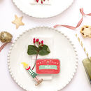 Personalised Elf Place Setting Alternative Cracker