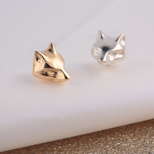 Fox Stud Earrings - earrings