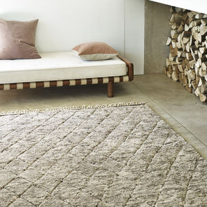 Echo Diamond Rug - rugs & doormats