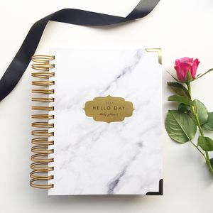 Carrara 2017 Daily Planner Diary - gifts for her