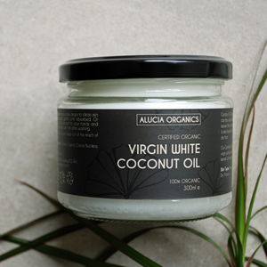 Organic Virgin White Coconut Oil - organic beauty