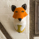 Sir Finlay Fox Felt Animal Head
