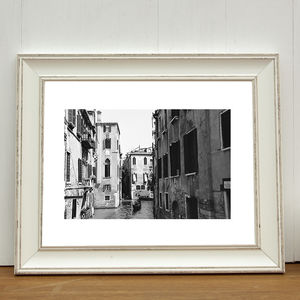 Venice Canal, Italy, Art Print - nature & landscape