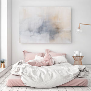 Calm Mornings, Canvas Art - modern & abstract