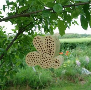 Ash Wood Bee House - art & decorations