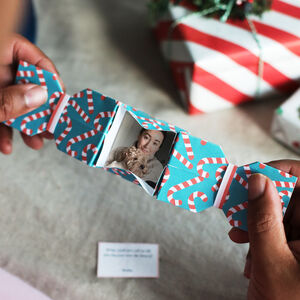 Six Personalised Origami Alternative Christmas Crackers