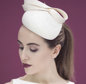 Straw Percher Laurelia - hats & fascinators