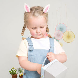 Bunny Ears Hair Clips - toys & games