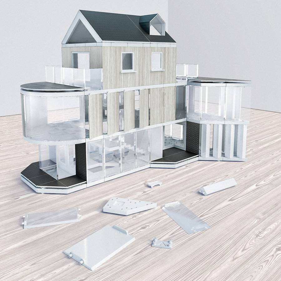 architectural model making kit 180sqm by arckit