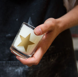 Star Votive Candle