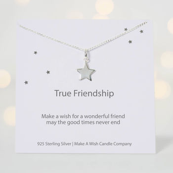 Make A Wish For True Friendship Necklace