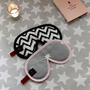 Luxury Sleep Mask With Lavender - bedroom