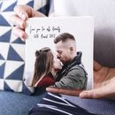 Personalised Anniversary Ceramic Photograph Print