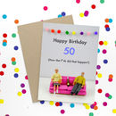 50 Birthday Card