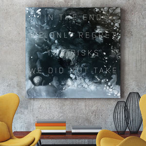 'Risk' Original Acrylic Painting - canvas prints & art
