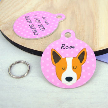 Australian Cattle Dog Personalised Dog ID Tag