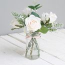 White Christmas Faux Bouquet Scandi Style