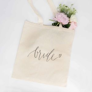 Bride Tote Bag - bags