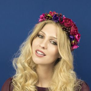 Bramble Patch Berry Crown - head pieces