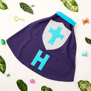 Children Personalised Knight Dressing Up Cape