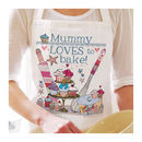 Personalised 'Loves To Bake' Apron