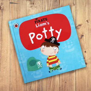 Personalised Potty Training Book: Pirate Potty - books