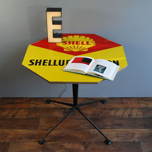 1960s Shell Sign Table - side tables