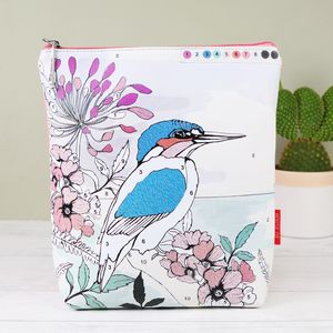 'Colour Me' Kingfisher Wash Bag