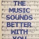 Music Sayings Sheet Music Print