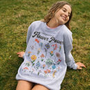 Flower Power Women's Flower Guide Sweatshirt