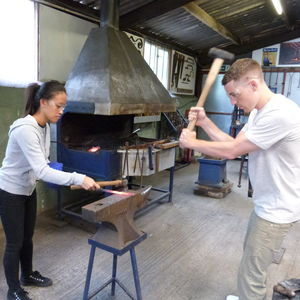 Couples Day Date Blacksmithing At Oldfield Forge - unusual activities experiences