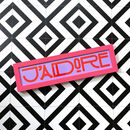 'J'adore' Limited Edition Framed Print Custom Neon