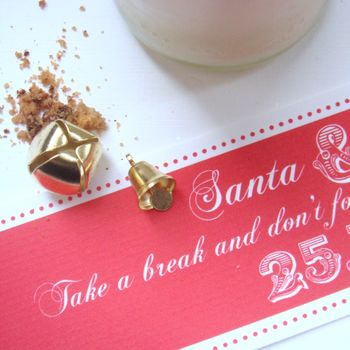Set Of Five Personalised Christmas Labels