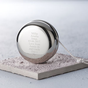Personalised Christening Yoyo - christening gifts