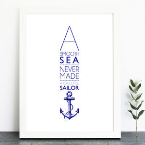 A Smooth Sea… Print