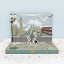 London Adventure Music Box Card