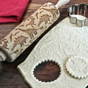 Dinosours Embossing Rolling Pin