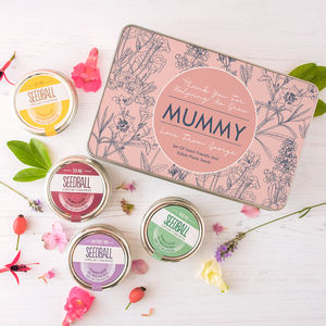 Personalised Wild Flowers Seed Kit For Mum - gifts for grandmothers